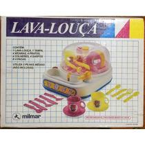 Raridade: Kit Lava Louça Infantil Milmar Novo Na Caixa