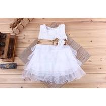 Vestido Verão Infantil Para Meminas Dama De Honra
