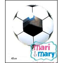 Kit 15 Und Balão Metalizado Bola De Futebol Pronta Entrega