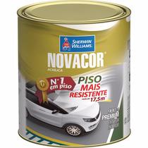 Tinta Piso Novacor 0,900ml Cinza - Cx/6