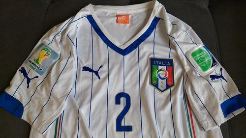 Camisa Oficial Puma Da Seleção Italia - Jogador Com Patches ca292d2a1f862