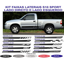 Acessorios Faixa Lateral S10 Sport Gm Chevrolet Adesivo