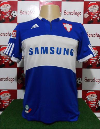 8e936f0248 Camisa Palmeiras Azul Retro Savóia 2009 Frete Grátis