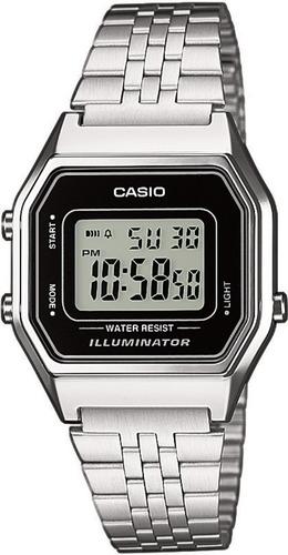 22954e1c05b São Paulo. R  120. 25 vendidos. Relógio Casio Feminino La680 Prata Retro  Vintage