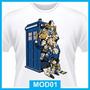 Camiseta Doctor Who Seriado, Nerd, Geek, Exterminate, Tardis