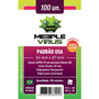 Deck Protector - Meeple Virus Padrão Usa 56x87 - 100 Uni