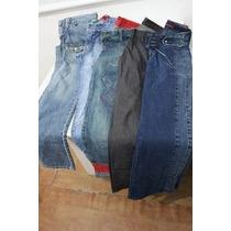 Lote 10 Calças Jeans Femininas 36 Por 99,00 + Brinde