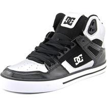 Dc Shoes Sapatos Spartan Hi Wc Homens Suede Skate
