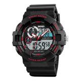 Relógio Masculino Digital Esportivo Prova D'água Original Nf