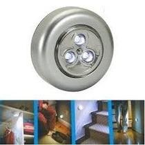 Lanterna Luminaria 3 Led De Toque Parede Teto E + Frete Free