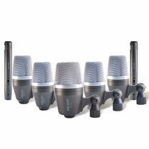 Kit De Microfones P/ Bateria Arcano Gray Series 7 Completo