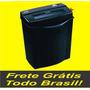 Fragmentadora Trituradora Picotadora Papel 12 Folhas A4 110v