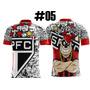 Camiseta Futebol Sp Sao Paulo/tricolor/ Morumbi/ Favela #05
