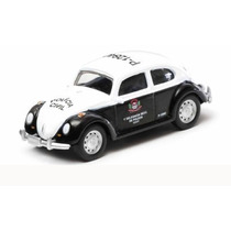 Volkswagen Fusca Policia Civil Greenlight 1:64