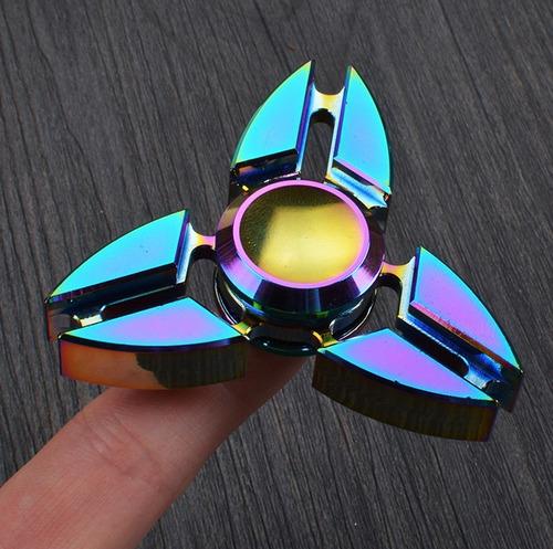 Fidget Hand Spinner Finger Toy Anti Stress Metal
