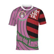 Camisa Meus Dois Amores - Mangueira E Flamengo