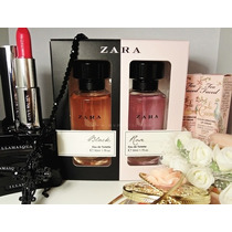 Kit Perfumes Femininos Zara Woman Rose/ Black 50ml