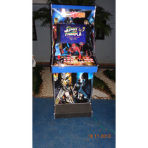 Máquina Multijogos Adesivada Lcd 22 Arcade