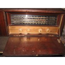 Radio Vitrola Antiga Abc A Voz De Ouro Bonita Ler O Anuncio.