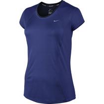 Camiseta Feminina Nike Racer Ss Esportiva Algodão Original