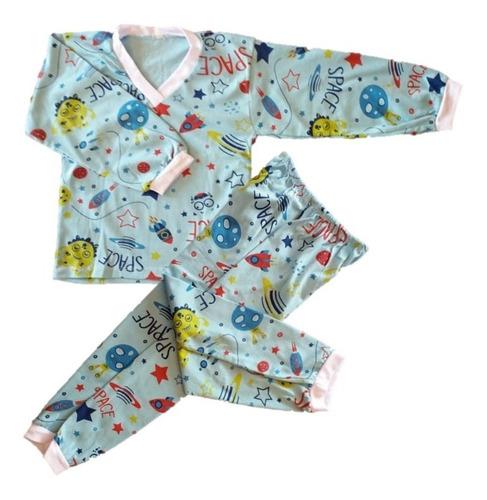 ab58dee66 Kit 06 Pijama Conjunto Infantil Menino Algodão Estampado