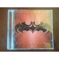 Cd Original Trilha Sonora Do Filme Batman & Robin