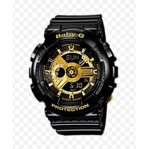 Relógio Casio Baby-g G-shock Ba-110-1adr Ga-110gb Em 12x