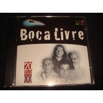 Cd Boca Livre / 20 Músicas Do Século