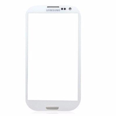 Tela Vidro S/touch Samsung Galaxy S3 Gt-i9300 + Adesivo