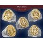 Anel Brasão De Familia Combinado Ouro 18k E Prata 950