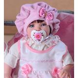 Bebê Reborn Promoção 53cm Princesa Boneca Envio Rapido Bolsa