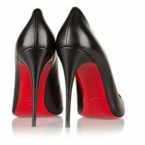 Sapato Christian Louboutin - Pigalle Black - 10 Cm