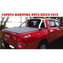 Capota Marítima Lona Modelo Original Toyota Nova Hilux 2016