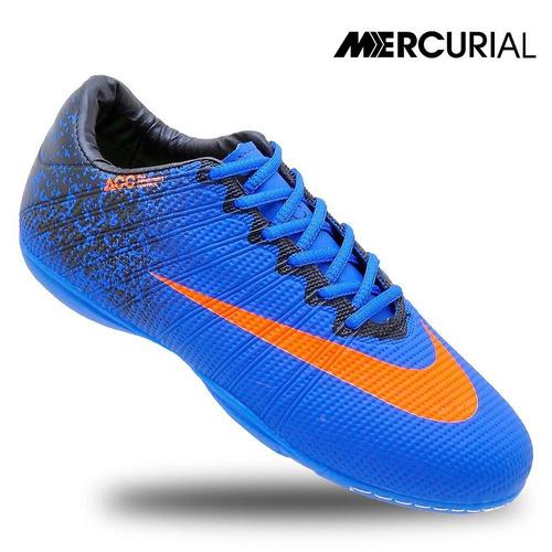 Kit 5 Pares Chuteira Nike Mercurial Futsal Quadra Cr7 - R  270 en ... df8e118cadcc0