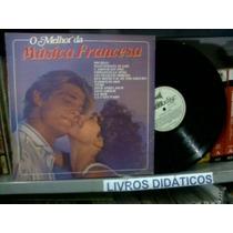 Lp Monseur Gilbert O Melhor Da Música Francesa 1985