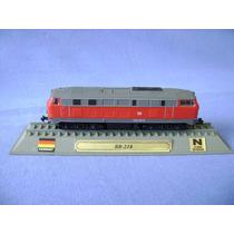 Locomotiva Br 218 - Trem Miniatura - Del Prado Collection