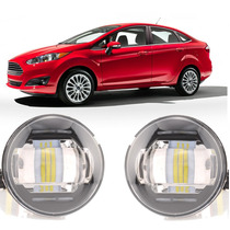 Par Farol De Milha Led Ford New Fiesta Sedan 2013/14/15 Dlaa