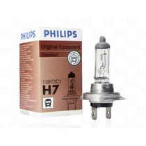 Par Lâmpada Philips H7 24v Halógena Original