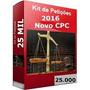 Kit Petições 2016 Com Mais De 25.000 Modelos Novo Cpc