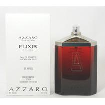 Perfume Francês Masculino Elixir By Azzaro 100ml Novo Tester