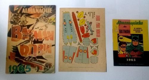 Almanaque De Batman 1965 Com Almanaquinho E Brinde - Ebal