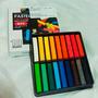 Giz Pastel Seco Colorido 18 Cores Basica Livro Tecido Cabelo