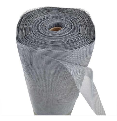 Mosquiteiro 1,50 X 10m Fibra De Vidro Branco Cinza Preta