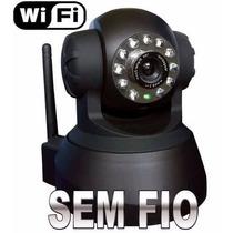 Câmera Ip Sem Fio Wireless Com Infravermelho E Movimentação