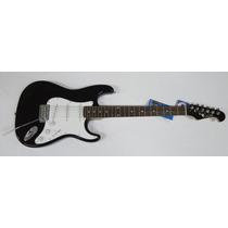 Guitarra Eagle Stratocaster Sts 001 Modelo Fender Black Nova