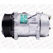 Compressor Universal 7h15 Polia 8pk 12v - 8 Orelhas Novo