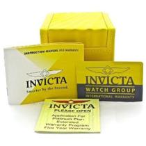 Lote De 100 Caixas Da Invicta Com Card, Manual E Certificado