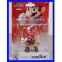 Amiibo Mario Smash Bros Bola Fogo Nintendo Wii U Original