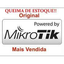 Licença Mikrotik Routeros Level 4 Rb L4 X86  Original
