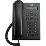 Telefone Ip Cisco Voip Unified Sip Cp-3905 - Novo + Fonte